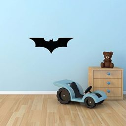 Batman Wall Decal Superhero Icon Emblem Symbol DC Comics Vinyl for Kids Boys Rooms