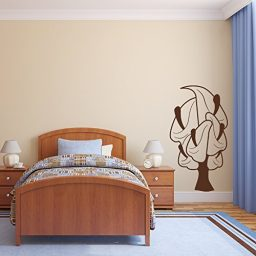 Lily Flower Vinyl Wall Design