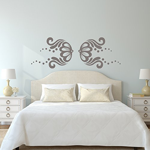 Lace Flower Vinyl Wall Design
