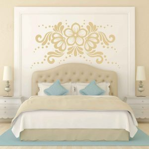 Lace Flower Decor Sticker Vinyl Decal Home Decorating