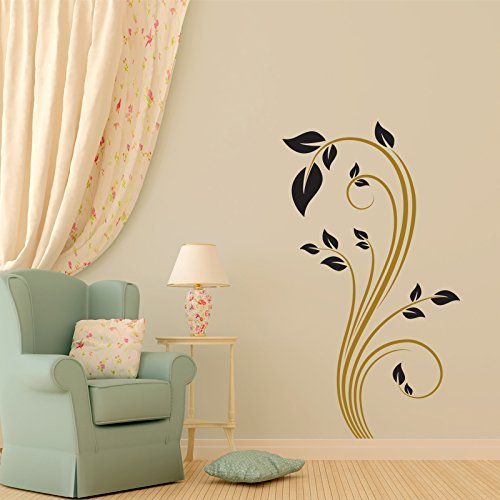 Flower Vinyl Wall Design