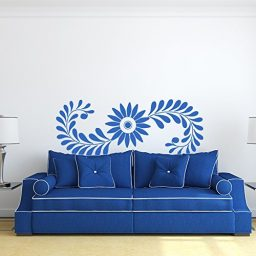 Flowers Vinyl Wall Design