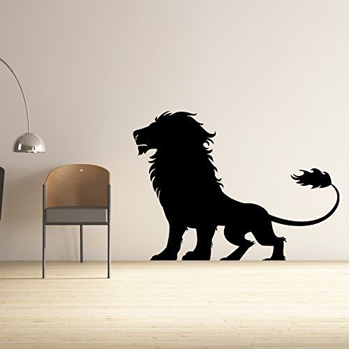 Lion Wall Decal Jungle Vinyl Sticker Decor
