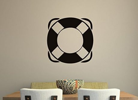 Nautical Wall Decals Life Preserver Ring Vinyl Sticker Decor Decal