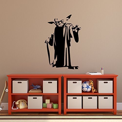 Yoda Decal, Star Wars Master Jedi