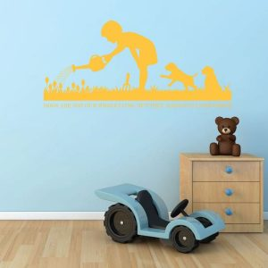 Dog Wall Decals - Dog Lover Gifts - Dog Decor - Vinyl Wall Decor