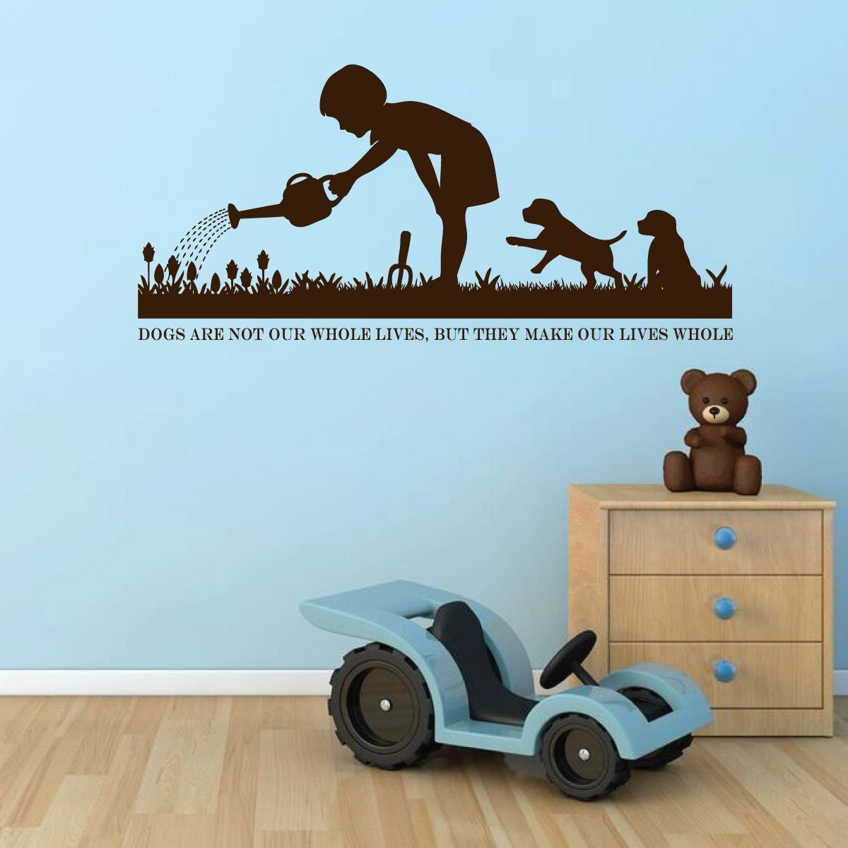Dog Wall Decals   Dog Lover Gifts   Dog Decor   Vinyl Wall Decor