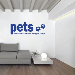 Pet Lovers Vinyl Wall Decals - Animal Lovers Gift