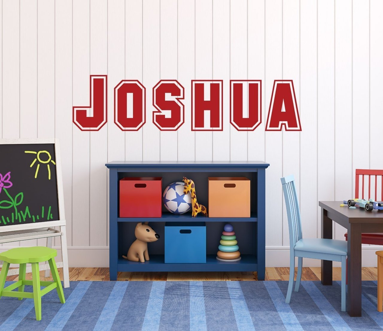 Custom Name Wall Decals - Personalized Kids Vinyl Sticker ...