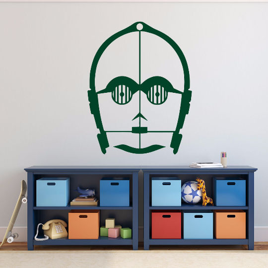 Star Wars Wall Decals C-3PO From Movies One-Seven