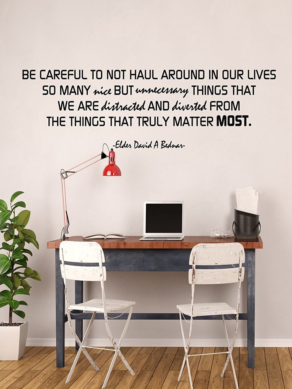 Be Careful To Focus On What Really Matters - David A Bednar