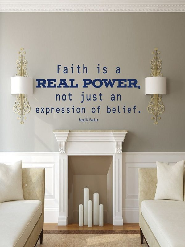 Boyd K Packer Quote Faith is a Real Power Trials Necessary for Salvation