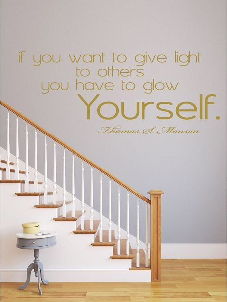 Give Light To Others LDS President Thomas S Monson