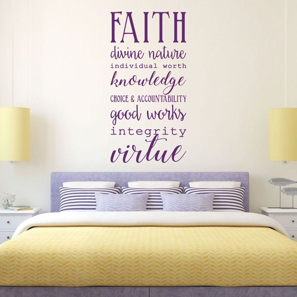 Young Women LDS - Religious Decals for Home, Girls Room Wall Art