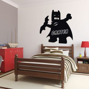 Personalized Wall Decals - Lego Batman DC Comics Superheroes