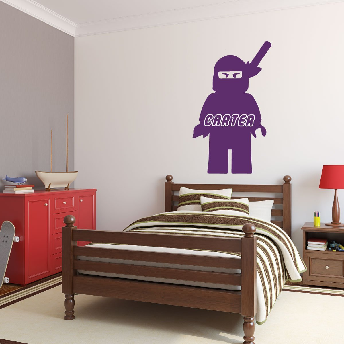 Super Personalized Wall Decal Lego Ninjago With Name In Character Download Free Architecture Designs Scobabritishbridgeorg