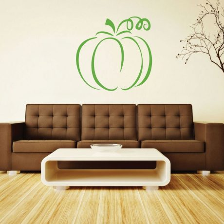 Halloween Pumpkin - Pumpkin Decorations, Fall Vinyl Wall Decals