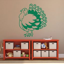 Thanksgiving Turkey - Turkey Wall Decals, Thanksgiving Decorations