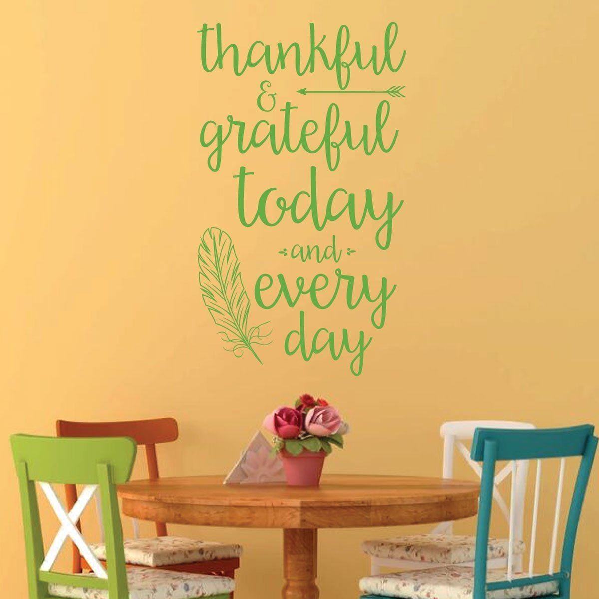Thanksgiving Decor - Thankful and Grateful Today and Every Day
