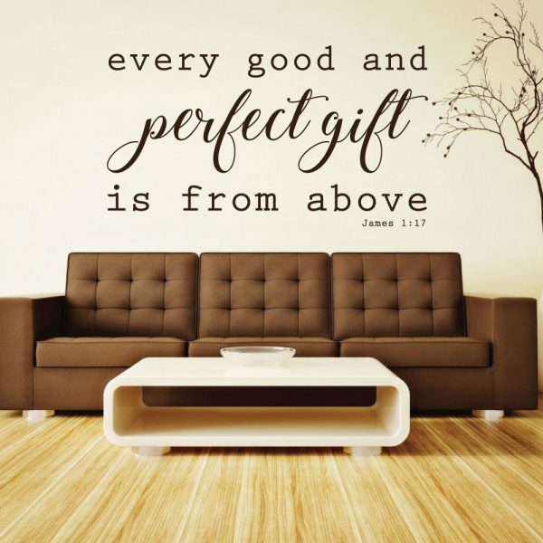 6 Things Every Perfectly Decorated Home Should Have: Bible Verse Wall Decals