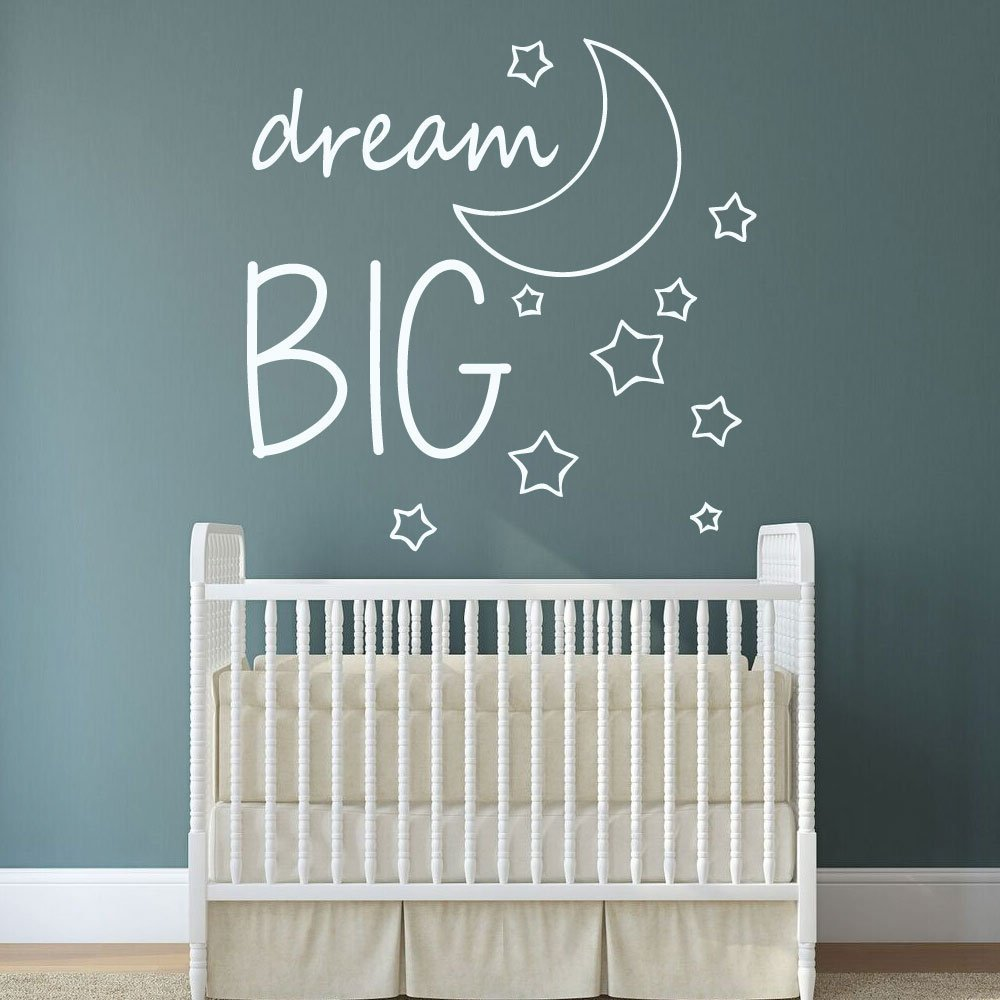 Dream Big Wall Decal - Nursery Decals