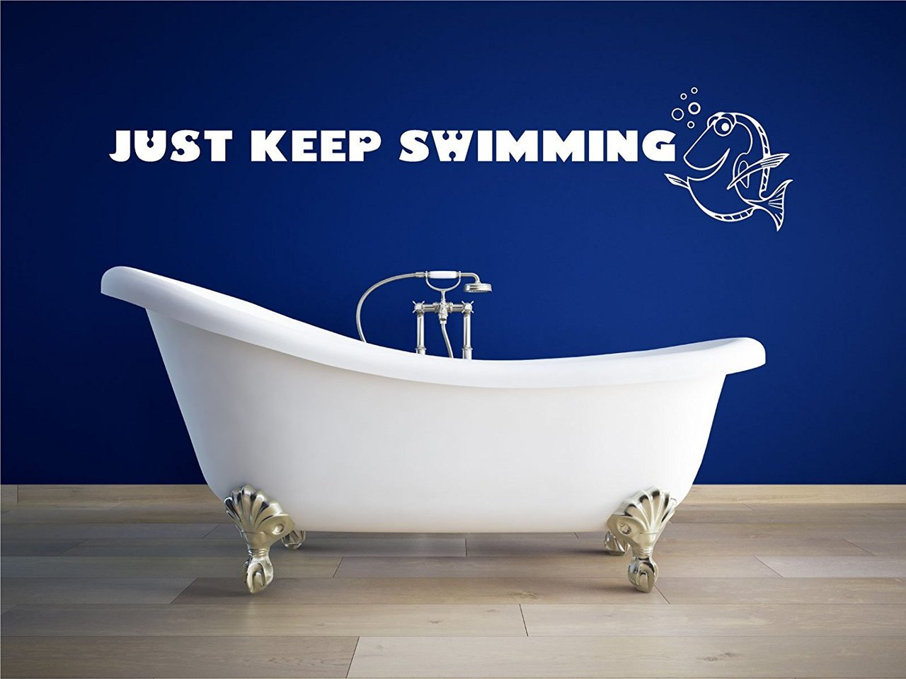 Just Keep Swimming Wall Decal Disney Home Decor