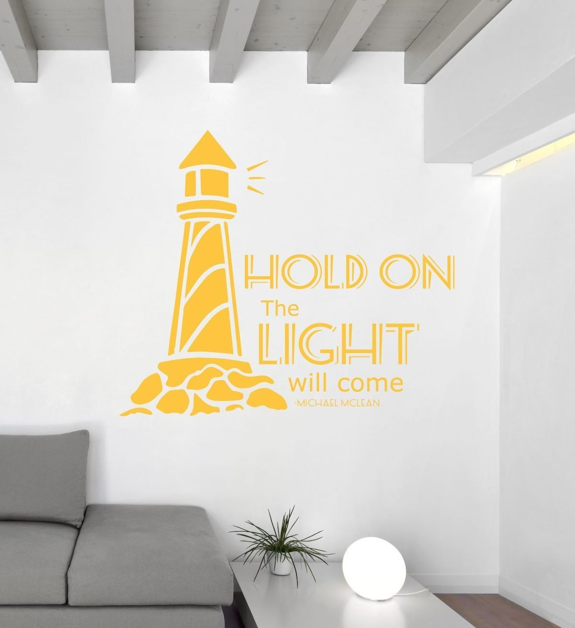 Song Lyrics Wall Decals - Michael McLean - Hold On the Light Will ...