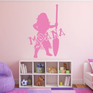 Disney Princesses Wall Decals - Moana - Disney Home Decor