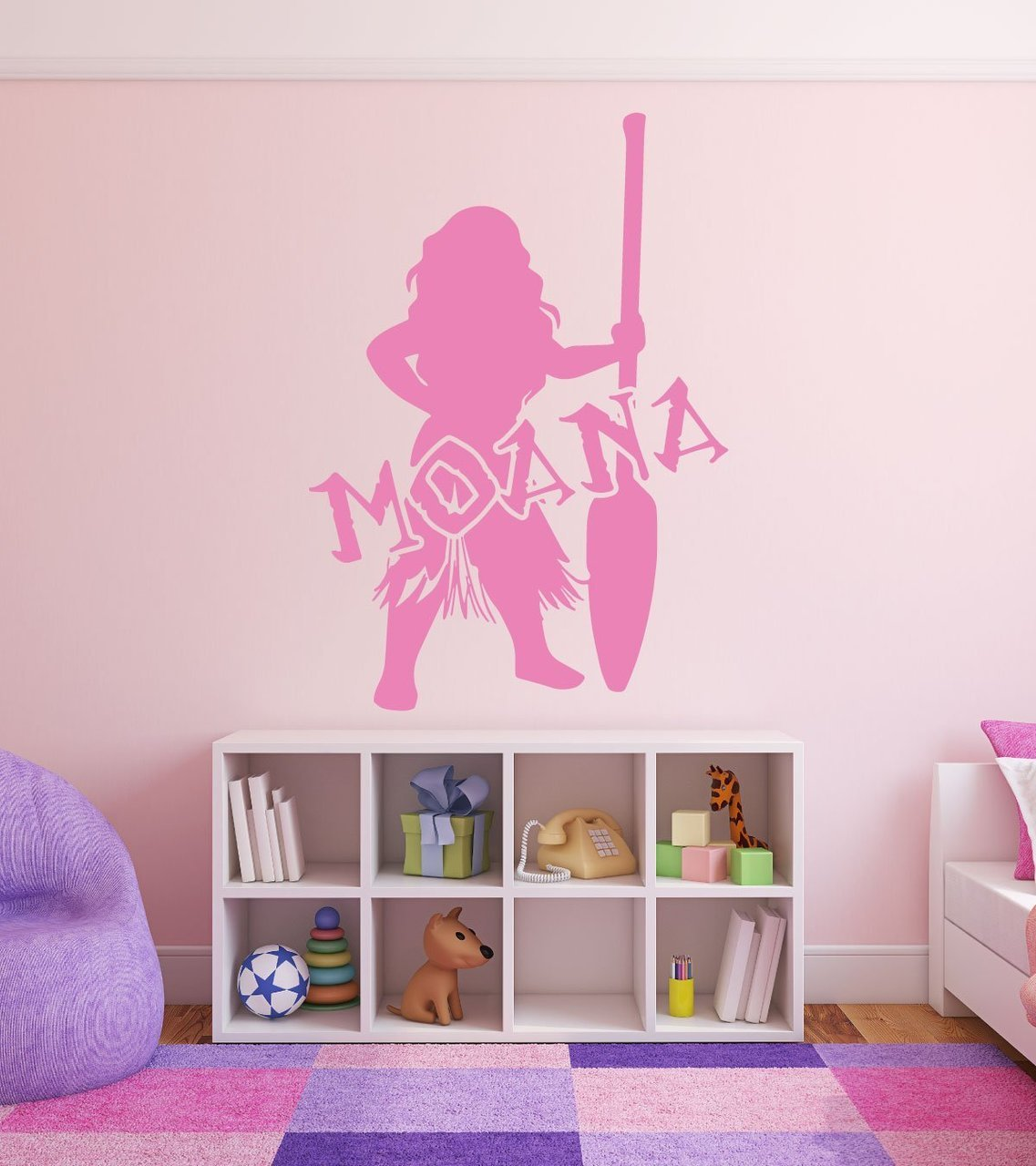 Disney Princesses Wall Decals Moana Disney Home Decor