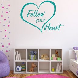 Follow Your Heart - Love Wall Art