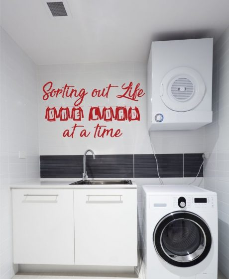 Laundry Room Wall Decals - Sorting Out Life One Load At a Time