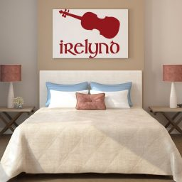 Musical Instruments Wall Decor - Personalized Violin/Viola