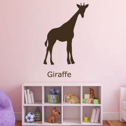 Zoo Animal Wall Decals - Giraffe - African Animal