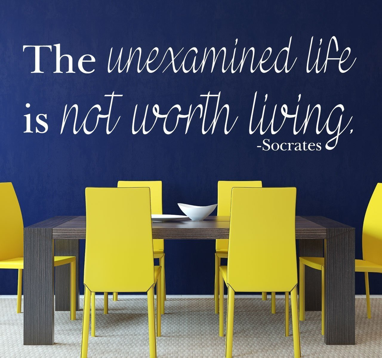 the unexamined life is not worth living I think this also sheds lights on the claim that the unexamined life is not worth living to return to the shoe making analogy, the claim might not be that it is not worth making shoes unless we examine the principles of shoe making.