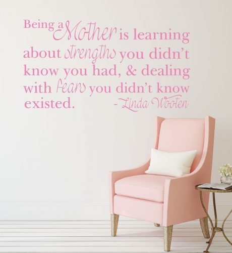 Being a Mother is Learning about Strengths & Dealing With Fears - Linda Wooten
