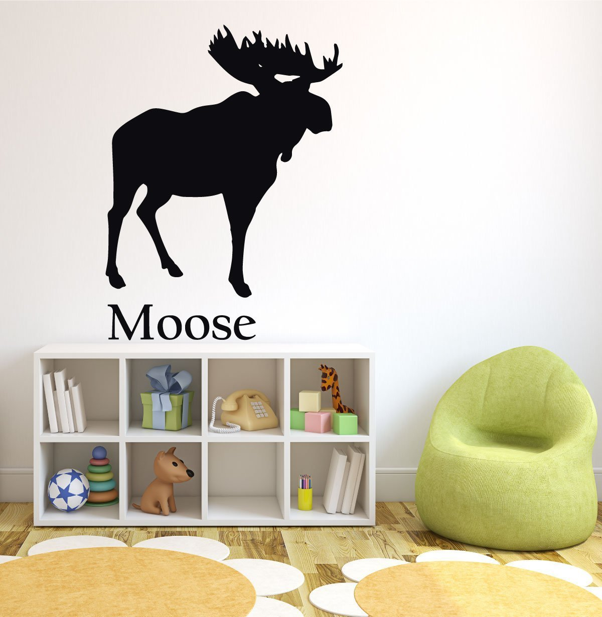 Forest Animal Wall Decals   Moose   North American Animals
