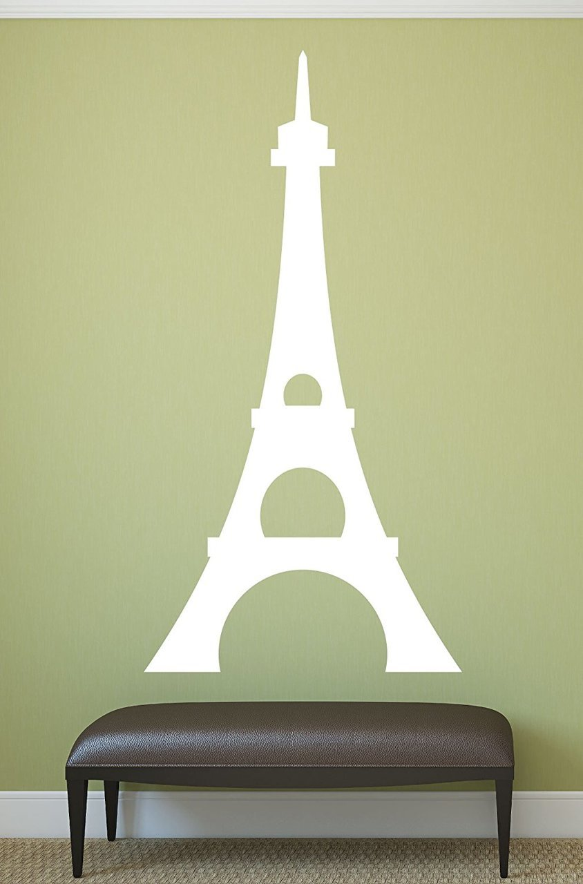 Eiffel Tower Wall Decal Paris Wall Decor