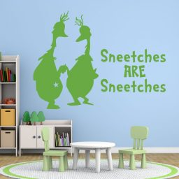 Dr. Seuss Wall Decals - Sneetches Are Sneetches
