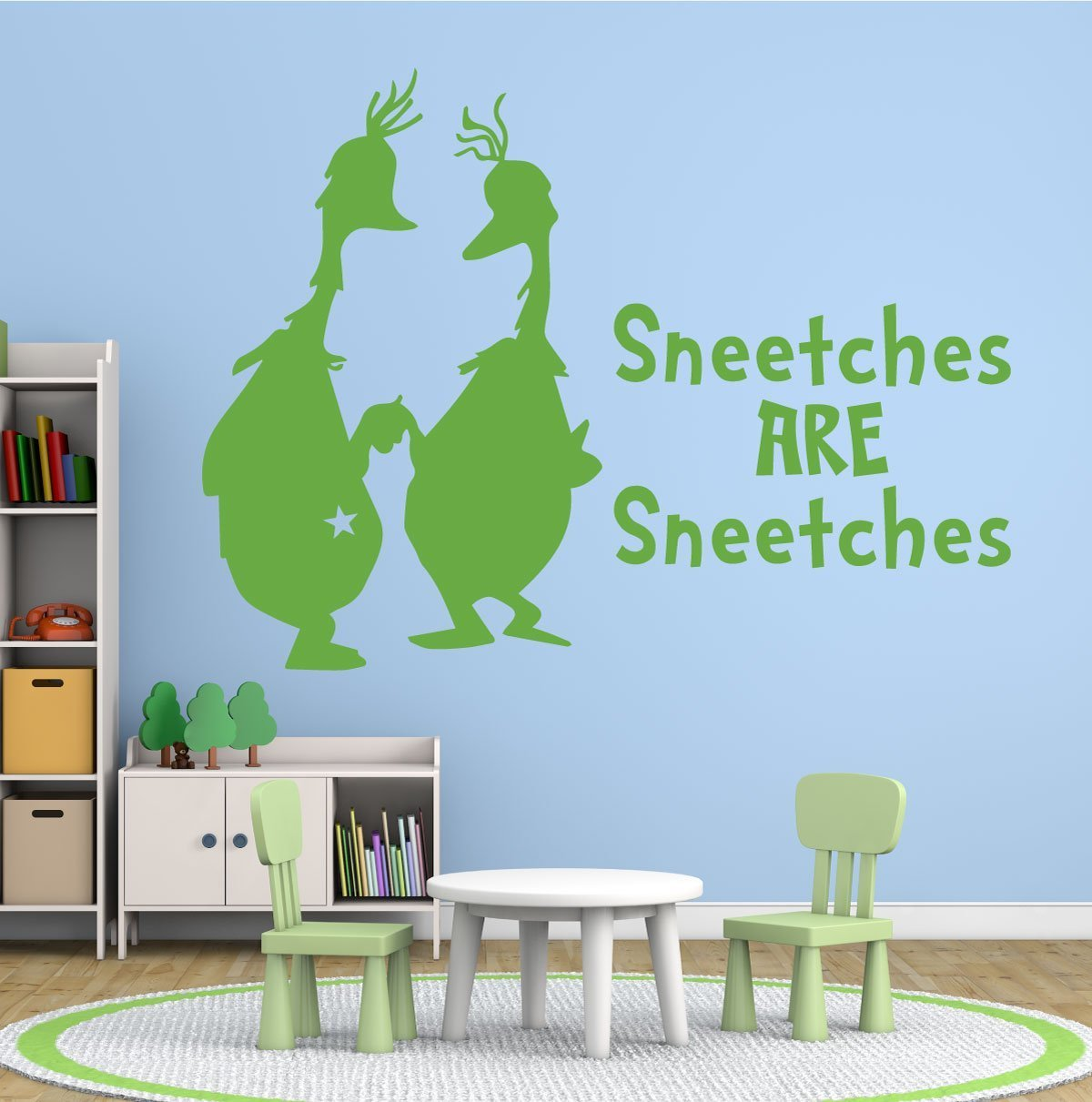 Dr. Seuss Wall Decals - Sneetches Are Sneetches ...  sc 1 st  CustomVinylDecor.com & Dr. Seuss Wall Decals - Sneetches Are Sneetches - CustomVinylDecor.com