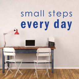 Inspirational Small Steps Every Day