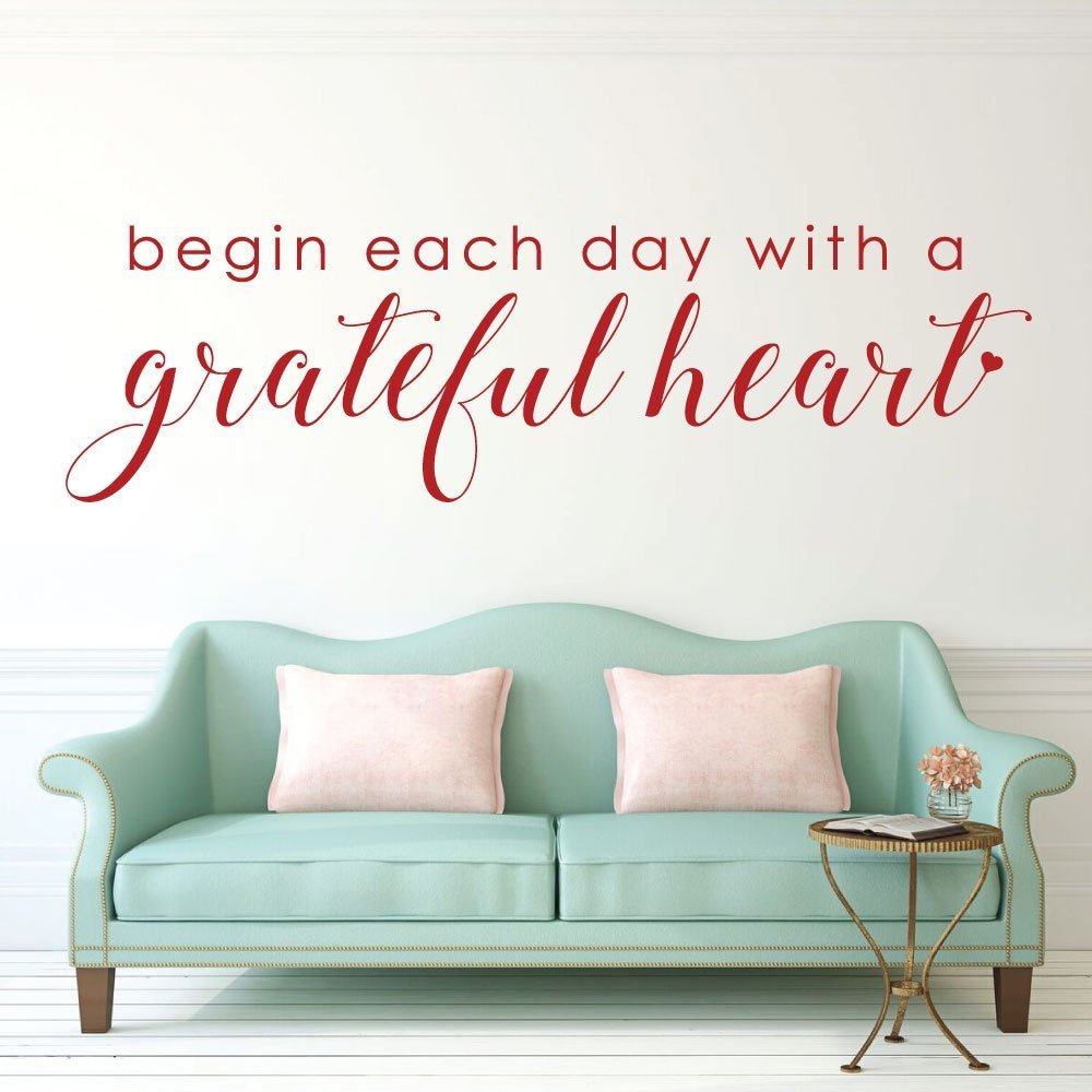 Living Each Day With Gratitude