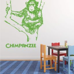 Zoo Animal Chimpanzee Forest Decor