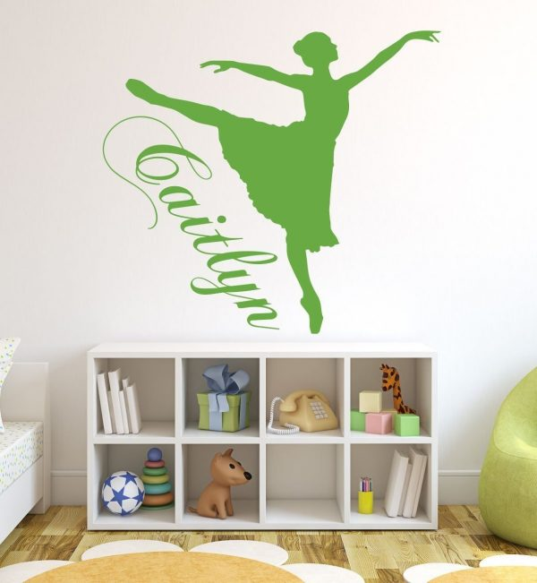 Ballerina Personalized Name