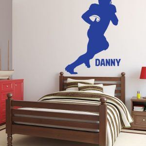 Personalized Running Football Player