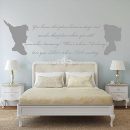 Disney Peter Pan Wendy Quote Decal