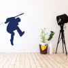 Guitar Player Wall Decal - Music Studio Decor