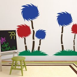 Dr. Seuss Wall Decor - Tufted Trees Classroom Decor