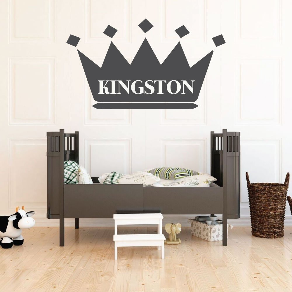 Wall Decal For Kids - King's Crown - Crown Design