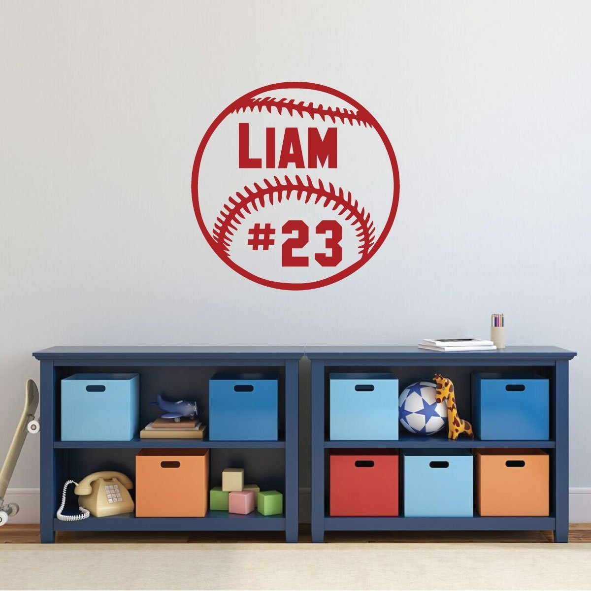 Baseball Wall Decor - Personalized Baseball Decorations