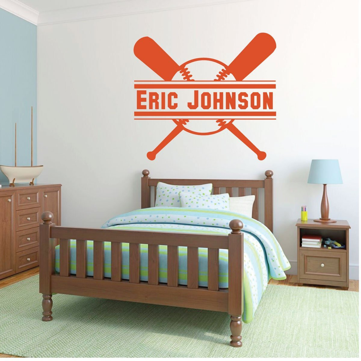 Sports Team Athlete Bedroom Decor